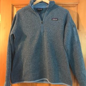 Patagonia blue pullover